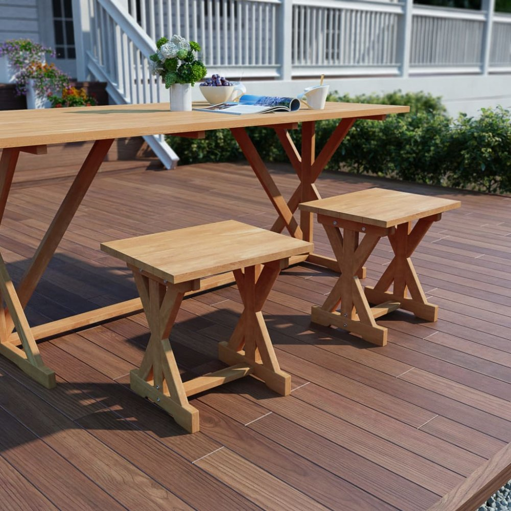 Zahradní stolička z teakového dřeva