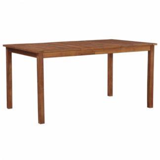 Zahradní jídelní stůl 150 x 90 cm z akáciového dřeva