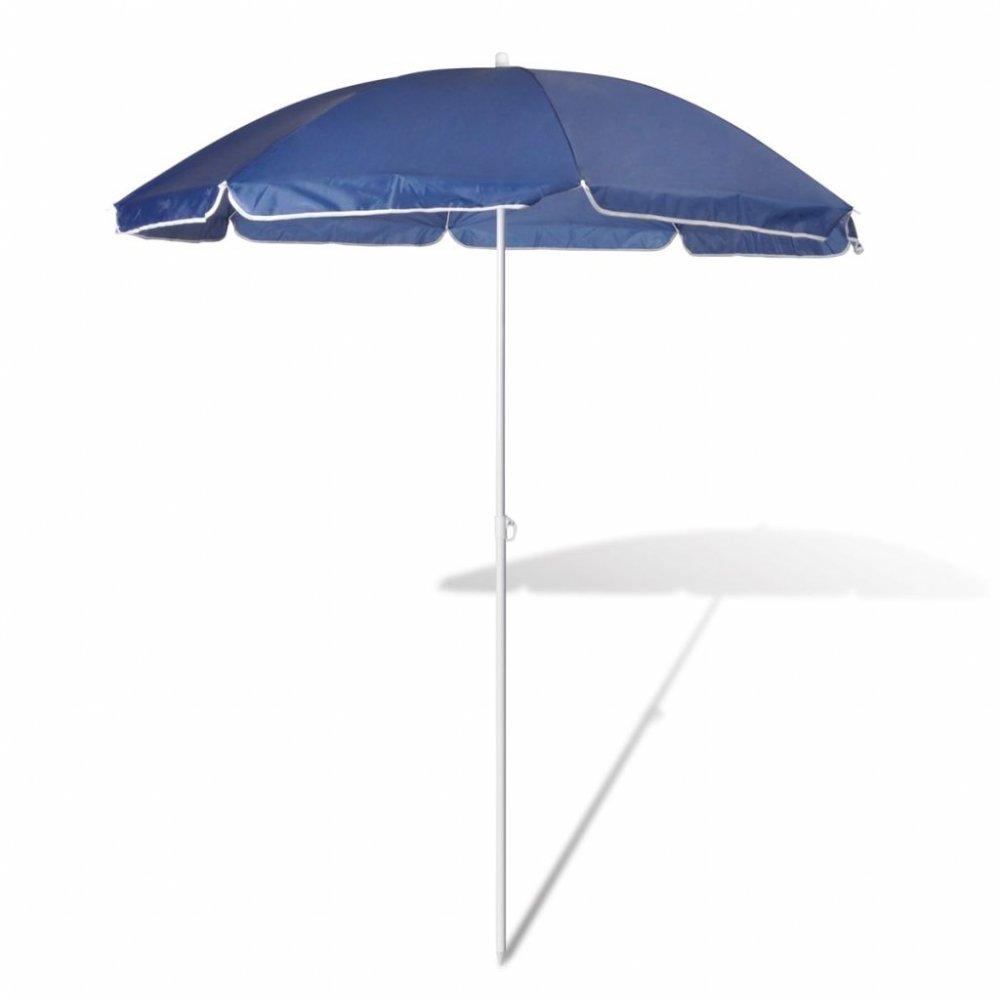 Plážový slunečník Ø 180 cm Modrá