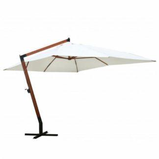 Plovoucí slunečník MELIA 300 x 400 cm Bílá