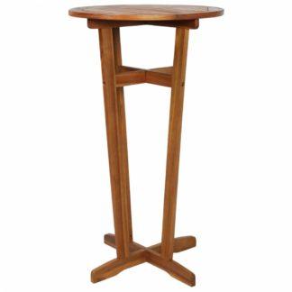 Barový stůl 60 cm z akáciového dřeva