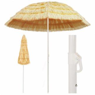 Plážový slunečník v havajském stylu Ø 240 cm