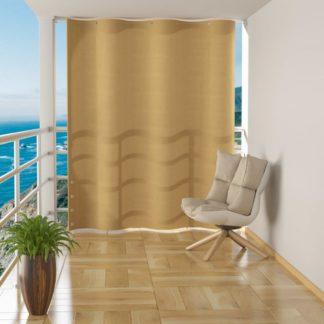 Závěsná balkonová zástěna 140 x 230 cm Béžová