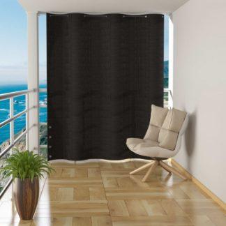 Závěsná balkonová zástěna 140 x 230 cm Antracit