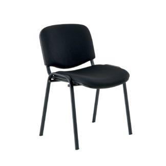 Stohovatelná židle ISO, černá