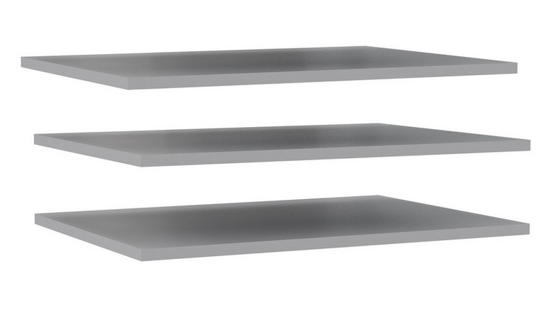 Set polic do skříně 83 cm (3 ks) DMRD82