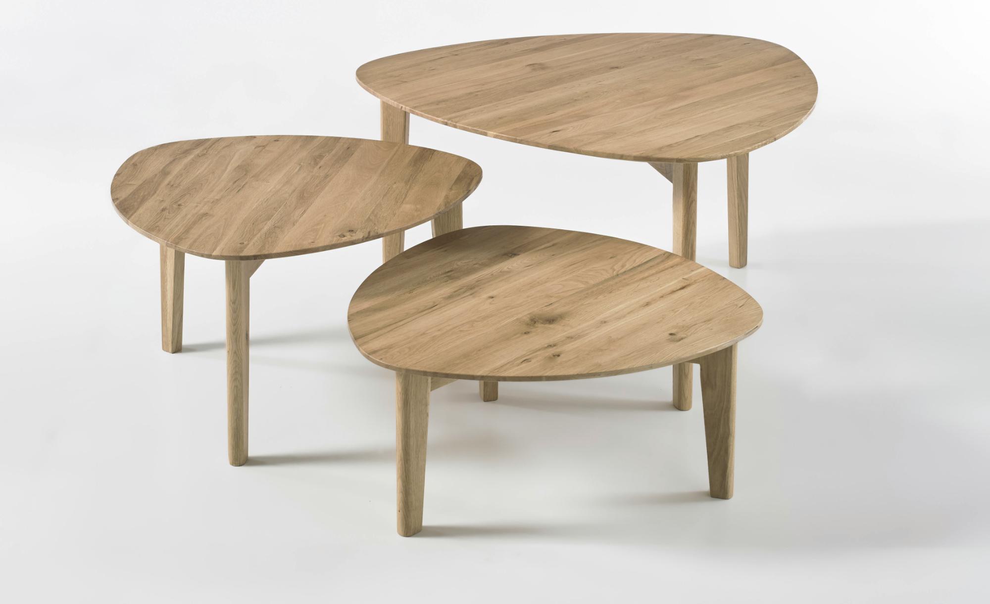 Sconto Přístavný stolek CAMILA