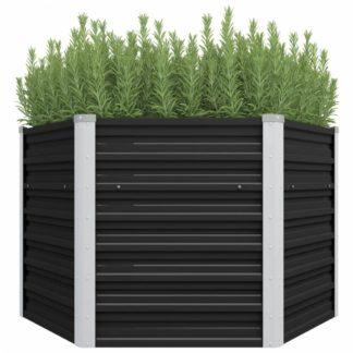 Zahradní truhlík 129x129x77 cm ocel Dekorhome