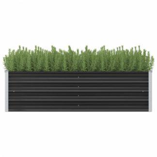 Zahradní truhlík 160x40x45 cm ocel Dekorhome