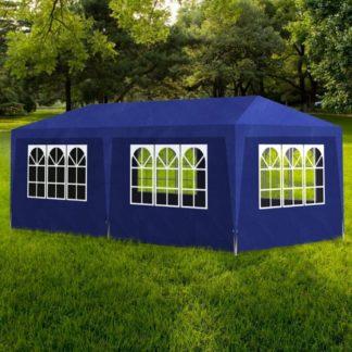 Party stan 3 x 6 m Dekorhome Modrá
