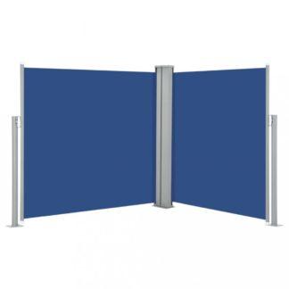 Zatahovací boční markýza 120x600 cm Dekorhome Modrá