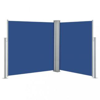 Zatahovací boční markýza 140x600 cm Dekorhome Modrá