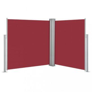 Zatahovací boční markýza 140x600 cm Dekorhome Červená