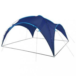 Party stan obloukový 450x450x265 cm Dekorhome Tmavě modrá