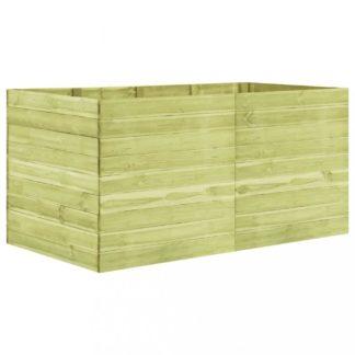 Zahradní truhlík 200x100x97 cm borovice Dekorhome