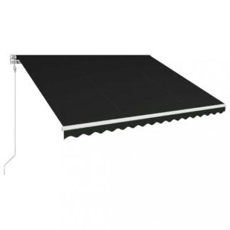 Automatická zatahovací markýza 450x300 cm Dekorhome Antracit