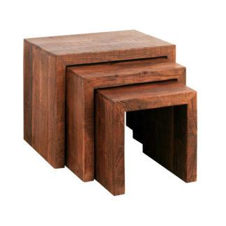 Sconto Přístavné stolky GURU CUBE