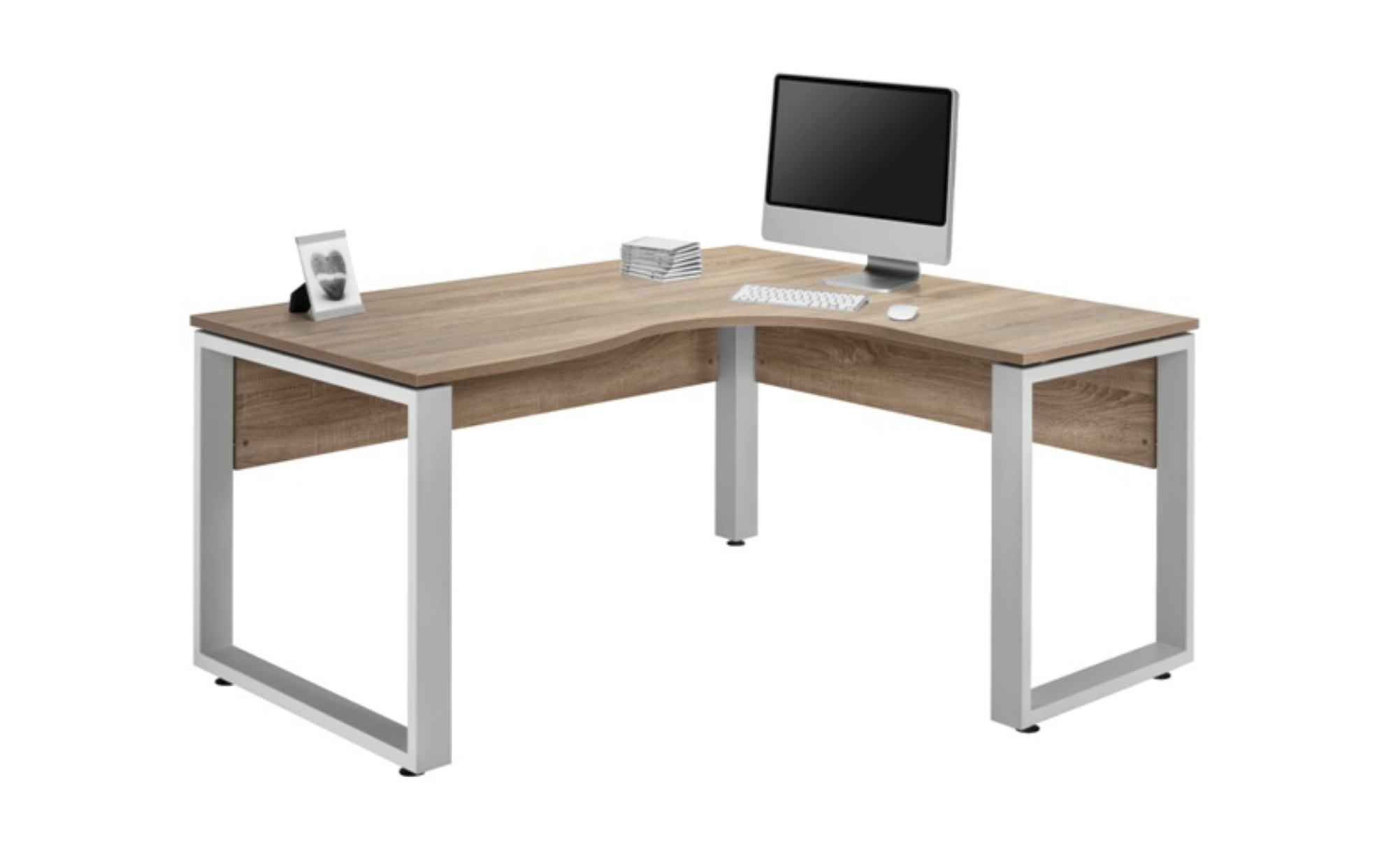 Sconto Rohový psací stůl SYSTEM