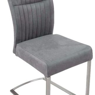Jídelní židle Sonata, šedá vintage látka