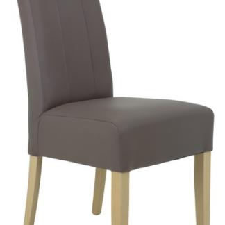 Jídelní židle Jasmin 1, blátivá ekokůže