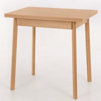 Jídelní stůl Trier II 75x55 cm, buk, rozkládací