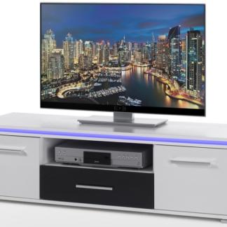 TV skříňka Blue Line 3, s osvětlením