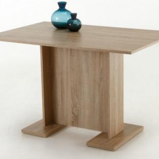 Jídelní stůl Ines 108x68 cm, dub sonoma