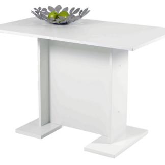 Jídelní stůl Ines 108x68 cm, bílý