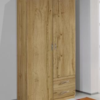 Šatní skříň Case, 91 cm, dub wotan