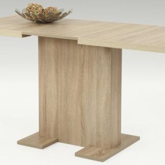 Jídelní stůl Lisa 110x70 cm, dub sonoma, rozkládací