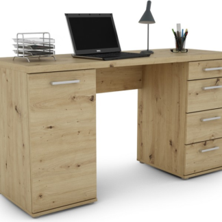 Psací stůl Walter, dub artisan