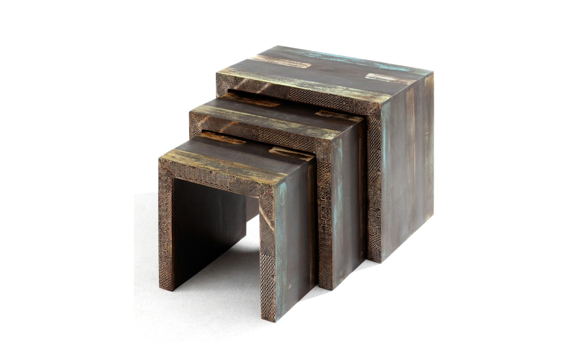 Sconto Přístavné stolky - set 3 ks GOA 3528
