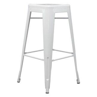 Möbelix Barová Židle Paul Bílá