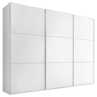 Möbelix Skříň S Posuvnými Dveřmi Includo 249 Cm Bílá