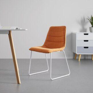 Möbelix Jídelní Židle Mira Oranžová