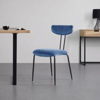 Möbelix Jídelní Židle Tylor Modrá