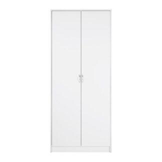 Möbelix Šatní Skříň Nika Bílá 75cm
