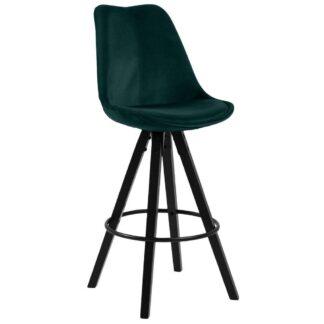 Möbelix Barová Židle Dima Smaragdová