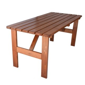 VIKING LAKOVANÝ stůl - 150 cm 180 cm Rojaplast 180x70 cm