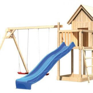 Dětské hřiště se skluzavkou Dekorhome Modrá
