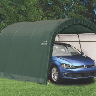 Náhradní plachta pro garáž 3 x 4,6 m zelená Dekorhome