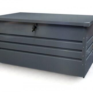 Zahradní úložný box 300l kovový Dekorhome