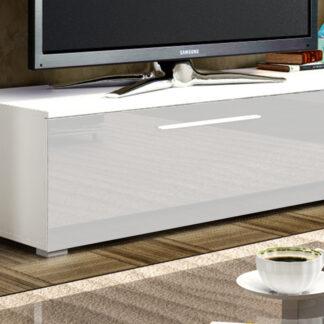 NICEA skříňka malá, bílá/bílý lesk