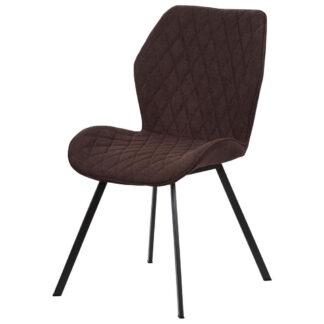 XXXLutz Židle Hnědá Černá
