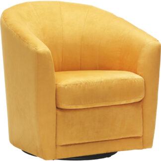 XXXLutz Křeslo Textil Žlutá Celina Home