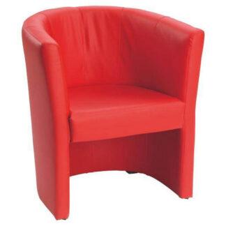 XXXLutz Křeslo Textil Červená Carryhome