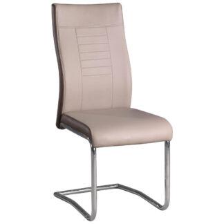 XXXLutz Pohupovací Židle Krémová Tmavě Hnědá Carryhome