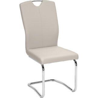 XXXLutz Pohupovací Židle Barvy Chromu Světle Šedá Hom`in