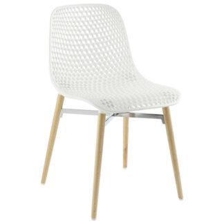 XXXLutz Židle Bílá Barvy Buku
