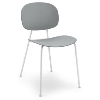 XXXLutz Židle Šedá Bílá